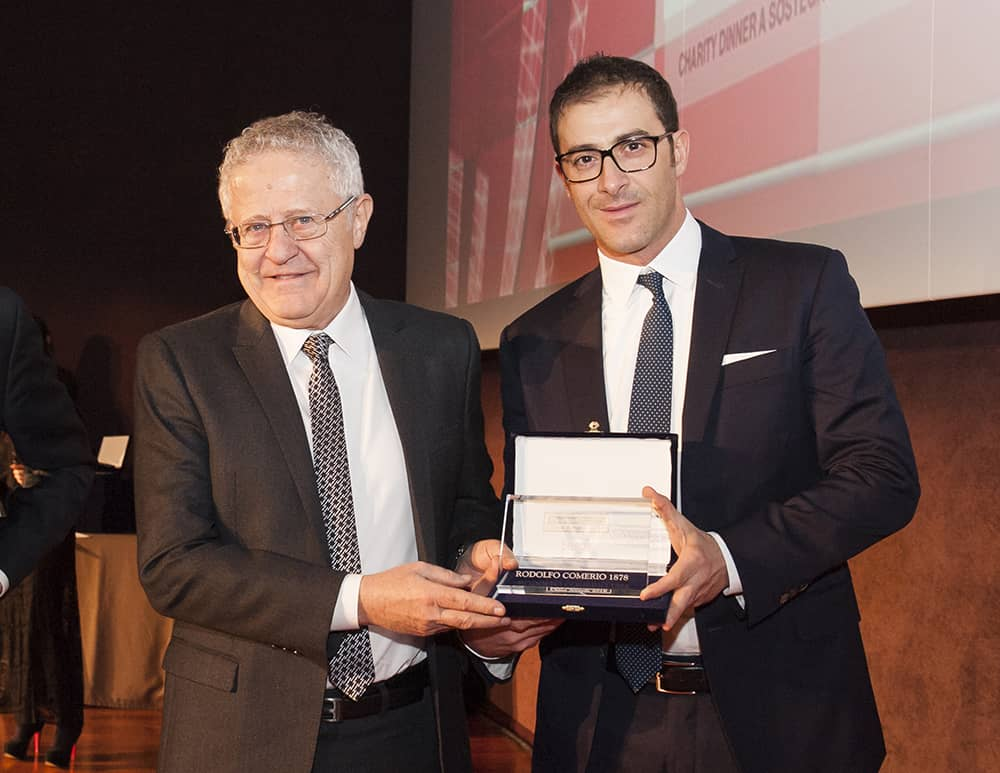 Rodolfo Comerio industriagomma China Award