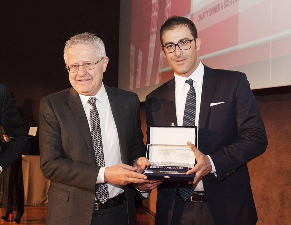 Rodolfo Comerio industriagomma China Award