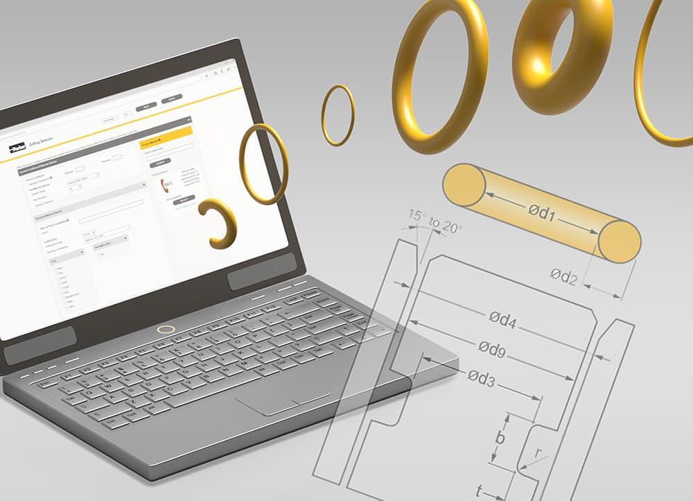 Parker O-ring Selector industriagomma