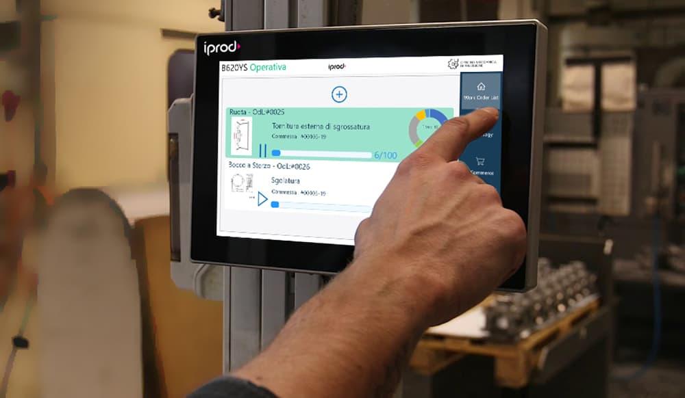 tablet IProd AiProd Alleantia IBM Industriagomma