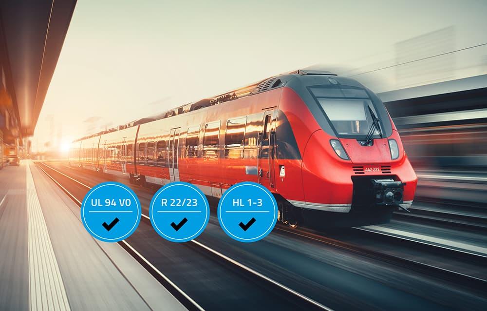Kraiburg TPE settore ferroviario industriagomma polimeri termoplastici