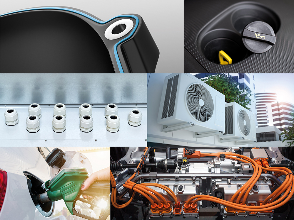 Kraiburg TPE elastomeri termoplastici ibridi TEH industriagomma