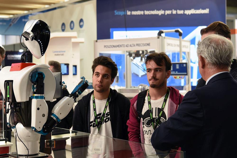 SPS Italia Messe Frankfurt Italia industriagomma