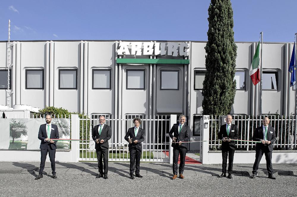 Arburg Italia sede ampliata industriagomma